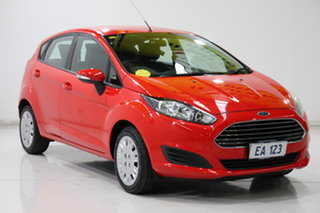2013 Ford Fiesta WZ Ambiente PwrShift Red 6 Speed Sports Automatic Dual Clutch Hatchback