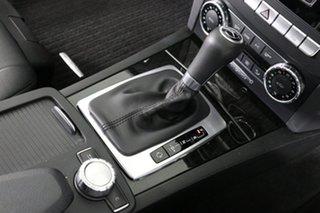 2012 Mercedes-Benz C250 W204 MY11 Avantgarde BE Silver 7 Speed Automatic G-Tronic Sedan
