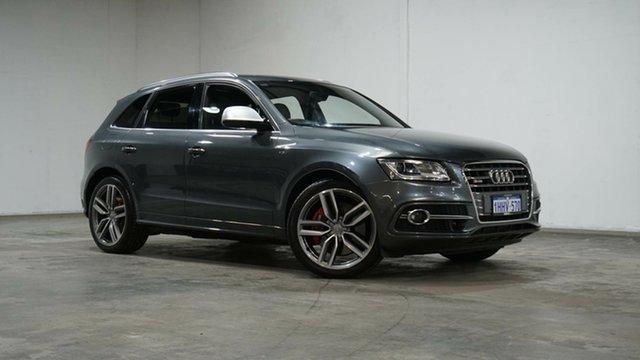 Used Audi SQ5 8R MY17 TDI Tiptronic Quattro Welshpool, 2016 Audi SQ5 8R MY17 TDI Tiptronic Quattro Grey 8 Speed Sports Automatic Wagon
