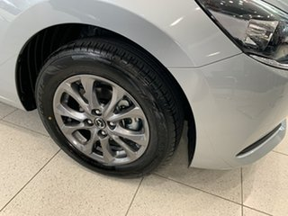 2021 Mazda 2 DJ2HA6 G15 SKYACTIV-MT Pure Sonic Silver 6 Speed Manual Hatchback.