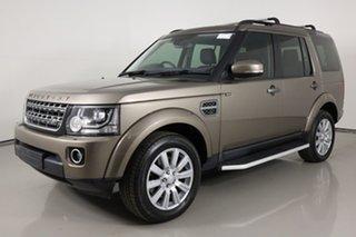 2015 Land Rover Discovery MY16 3.0 TDV6 Kaikoura Stone 8 Speed Automatic Wagon.
