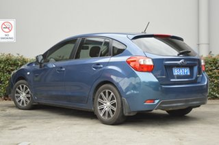 2012 Subaru Impreza G4 MY12 2.0i Lineartronic AWD Blue 6 Speed Constant Variable Hatchback
