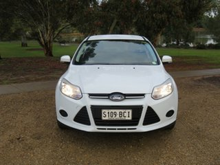 2014 Ford Focus LW MkII MY14 Ambiente PwrShift White 6 Speed Sports Automatic Dual Clutch Hatchback.