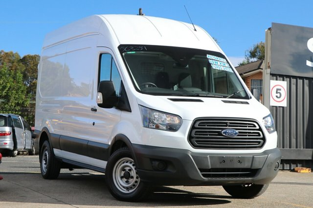Used Ford Transit VO 350L (Mid Roof) Homebush, 2017 Ford Transit VO 350L (Mid Roof) White 6 Speed Manual Van