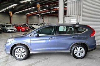 2014 Honda CR-V RM MY14 DTi-S 4WD Blue 5 Speed Automatic Wagon