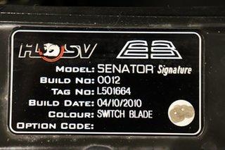 2010 Holden Special Vehicles Senator E Series 3 Signature Switchblade 6 speed Automatic Sedan