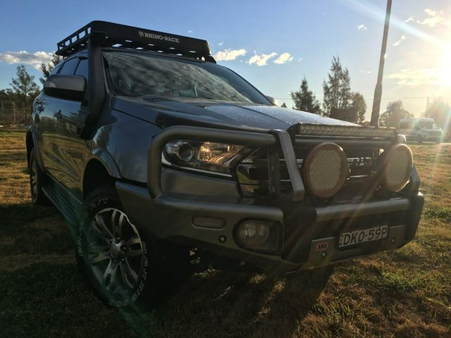 Used Ford Everest UA Trend Dubbo, 2016 Ford Everest UA Trend Silver Sports Automatic