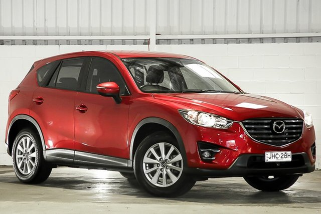 Used Mazda CX-5 KE1032 Maxx SKYACTIV-Drive AWD Sport West Gosford, 2016 Mazda CX-5 KE1032 Maxx SKYACTIV-Drive AWD Sport Red 6 Speed Sports Automatic Wagon