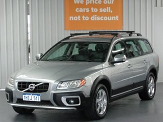 2010 Volvo XC70 BZ MY10 D5 Geartronic Silver 6 Speed Sports Automatic Wagon.