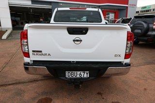 2015 Nissan Navara NP300 D23 DX (4x2) White 7 Speed Automatic Double Cab Utility