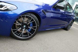 2020 BMW M5 F90 Competition LCI Marina Blue 8 Speed Auto Steptronic Sport Sedan.