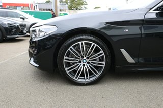 2020 BMW 5 Series G30 520i Steptronic M Sport Black Sapphire 8 Speed Sports Automatic Sedan.