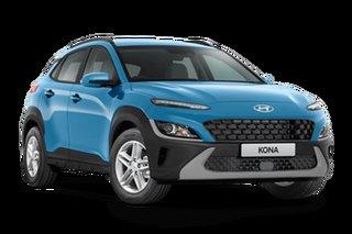 2021 Hyundai Kona OS.V4 KONA Surfy Blue 7 Speed Automatic SUV
