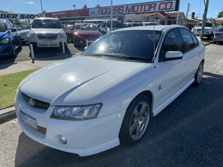 2004 Holden Commodore VZ SV6 White 5 Speed Auto Active Select Sedan.