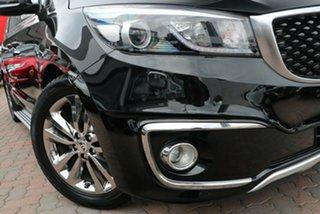 2017 Kia Carnival YP MY18 Platinum Black 6 Speed Sports Automatic Wagon.