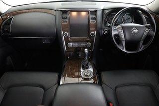2018 Nissan Patrol Y62 Series 4 MY18 TI (4x4) White 7 Speed Automatic Wagon