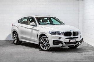 2018 BMW X6 F16 xDrive30d Coupe Steptronic White 8 Speed Sports Automatic Wagon.