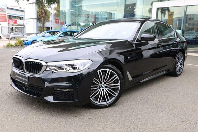 Used BMW 520i F10 MY17 M Sport Brookvale, 2020 BMW 520i F10 MY17 M Sport Black Sapphire 8 Speed Auto Sports Mode Sedan