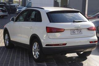 2018 Audi Q3 8U MY18 TFSI S Tronic White 6 Speed Sports Automatic Dual Clutch Wagon.