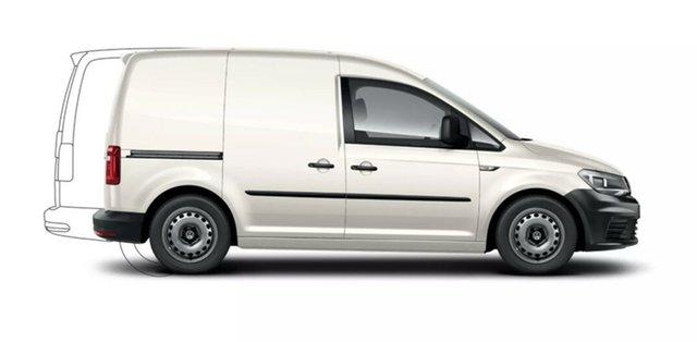 New Volkswagen Caddy Port Melbourne, 2021 Volkswagen Caddy CARGO SWB TDI32 White 7SPD DSG TRANS Van