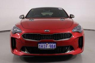 2020 Kia Stinger CK MY20 GT (Black Leather) Red 8 Speed Automatic Sedan.