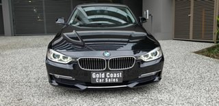 2015 BMW 320d F30 MY15 Upgrade Luxury Line Black 8 Speed Automatic Sedan.