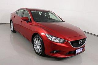 2015 Mazda 6 6C MY15 Sport Red 6 Speed Automatic Sedan