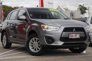 2012 Mitsubishi ASX XA MY12 Activ 2WD Dark Grey 6 Speed Constant Variable Wagon.