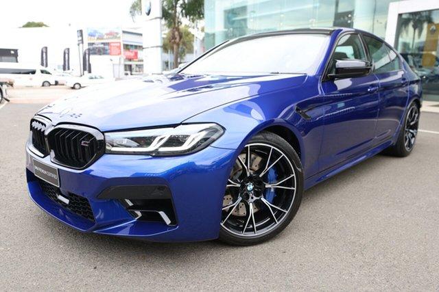 Used BMW M5 F90 Competition LCI Brookvale, 2020 BMW M5 F90 Competition LCI Marina Blue 8 Speed Auto Steptronic Sport Sedan