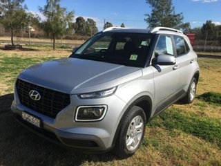 2019 Hyundai Venue QX Active Silver Automatic.