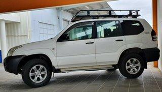 2004 Toyota Landcruiser Prado KZJ120R GX White 4 Speed Automatic Wagon