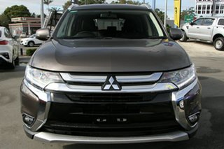 2017 Mitsubishi Outlander ZK MY17 LS 2WD Brown 6 Speed Constant Variable Wagon