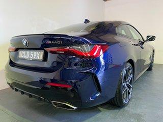 2020 BMW 4 Series G22 M440i Steptronic AWD xDrive Tanzanite Blue 8 Speed Sports Automatic Coupe