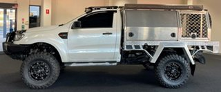 2016 Ford Ranger PX MkII XL Plus White 6 Speed Sports Automatic Cab Chassis