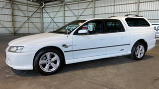 2005 Holden Crewman VZ SS White 4 Speed Automatic Utility