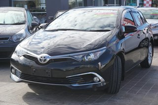 2016 Toyota Corolla ZRE182R Ascent Sport S-CVT Black 7 Speed Constant Variable Hatchback