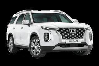 2021 Hyundai Palisade LX2.V1 Highlander White Cream 8 Speed Automatic