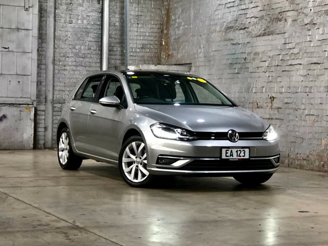 Used Volkswagen Golf 7.5 MY18 110TSI DSG Highline Mile End South, 2018 Volkswagen Golf 7.5 MY18 110TSI DSG Highline Silver 7 Speed Sports Automatic Dual Clutch