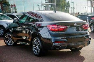 2015 BMW X6 F16 xDrive30d Coupe Steptronic Black 8 Speed Sports Automatic Wagon.