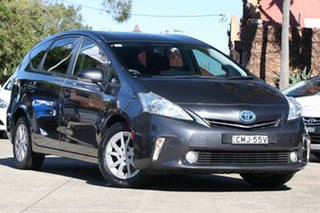 2013 Toyota Prius v ZVW40R Hybrid Graphite Continuous Variable Wagon.
