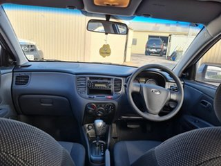 2007 Kia Rio JB LX Silver 4 Speed Automatic Hatchback