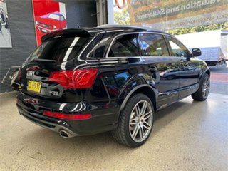 2013 Audi Q7 4L TDI Black Sports Automatic Wagon
