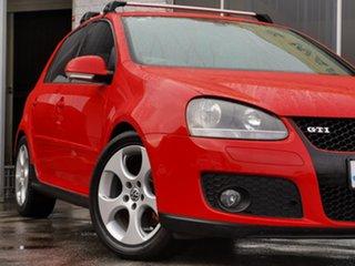 2007 Volkswagen Golf V MY08 GTI DSG Red 6 Speed Sports Automatic Dual Clutch Hatchback.