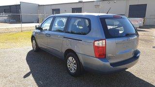 2012 Kia Grand Carnival VQ MY12 S Blue 6 Speed Automatic Wagon