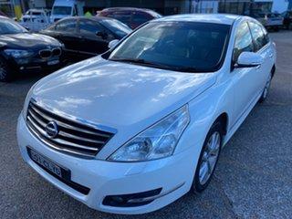 2012 Nissan Maxima J32 MY11 250 X-tronic ST-L White 6 Speed Constant Variable Sedan.