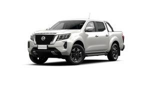 2021 Nissan Navara D23 Dual Cab ST-X Pick Up 4x4 White Pearl 7 Speed Automatic Utility.