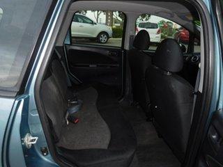 2008 Mitsubishi Colt RG MY08 ES Blue 1 Speed Constant Variable Hatchback