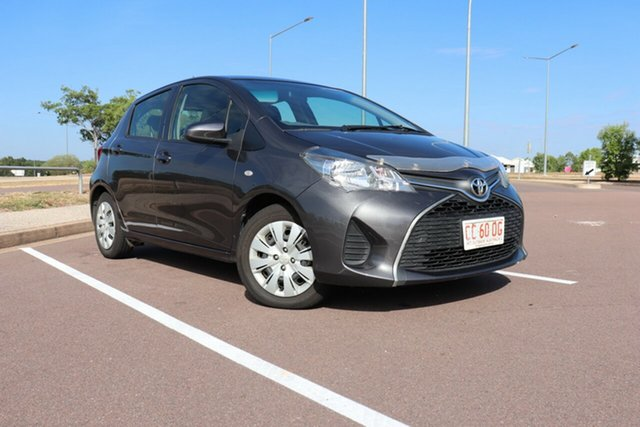 Pre-Owned Toyota Yaris NCP130R Ascent Palmerston, 2016 Toyota Yaris NCP130R Ascent Graphite 4 Speed Automatic Hatchback