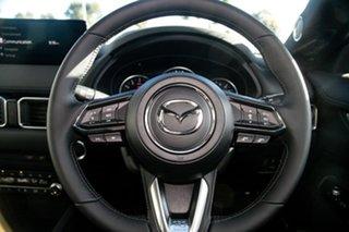2021 Mazda CX-5 KF4WLA Akera SKYACTIV-Drive i-ACTIV AWD Sonic Silver 6 Speed Sports Automatic Wagon
