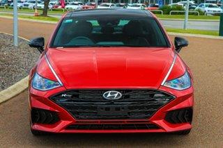 2021 Hyundai Sonata DN8.V1 MY21 N Line DCT Flame Red 8 Speed Sports Automatic Dual Clutch Sedan.